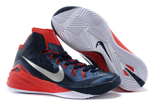 For Sale Nike Hyperdunk 2014 USA Away Obsidian White-University Red Online