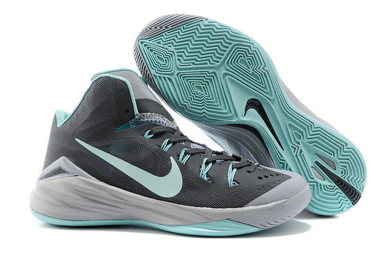 Nike Hyperdunk 2014 Dark Magnet Grey Hyper Turquoise For Sale