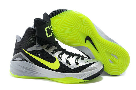 Nike Hyperdunk 2014 New York City Dark Grey-Volt For Sale