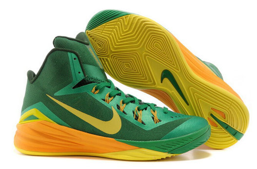 Online For Sale Cheap Wholesale Nike Hyperdunk 2014 Brazil Lucky Green Sonic Yellow-Gorge Green