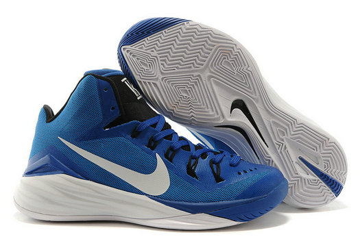 Online Cheap Wholesale Nike Hyperdunk 2014 XDR Royal Blue White For Sale