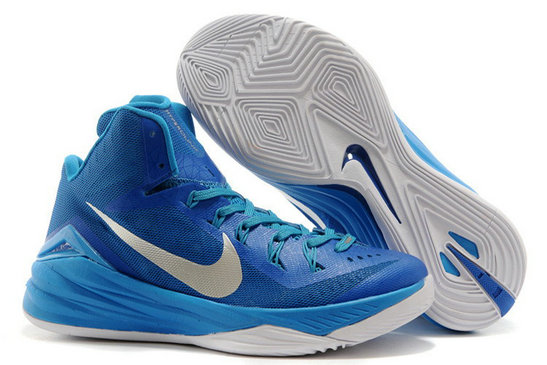 Online For Sale Nike Hyperdunk 2014 Game Royal Blue Hero Metallic Silver-White