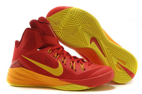 Online For Sale Cheap Wholesale Nike Hyperdunk 2014 Spain University Red University Gold-Team Red