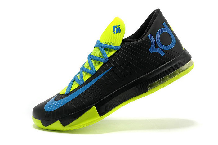 844312f7651 Nike Kevin Durant KD 6 VI Black Blue Green For Sale Online - China ...