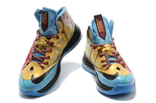 Nike LeBron 10 (X) Ironman 3 Customs by Mache Online For Sale