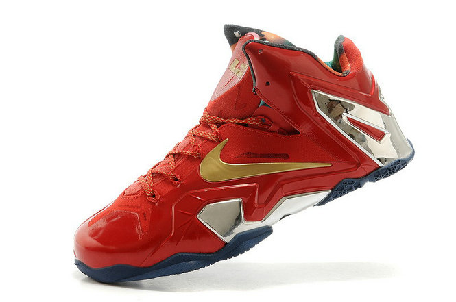 New Nike LeBron 11 Elite SE Championship University Red Metallic Gold For Sale