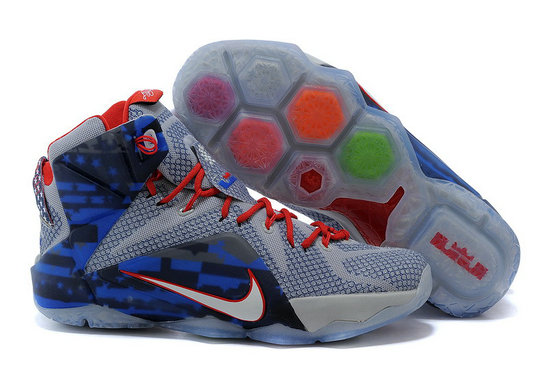 Cheap Wholesale Nike LeBron 12 Independence Day