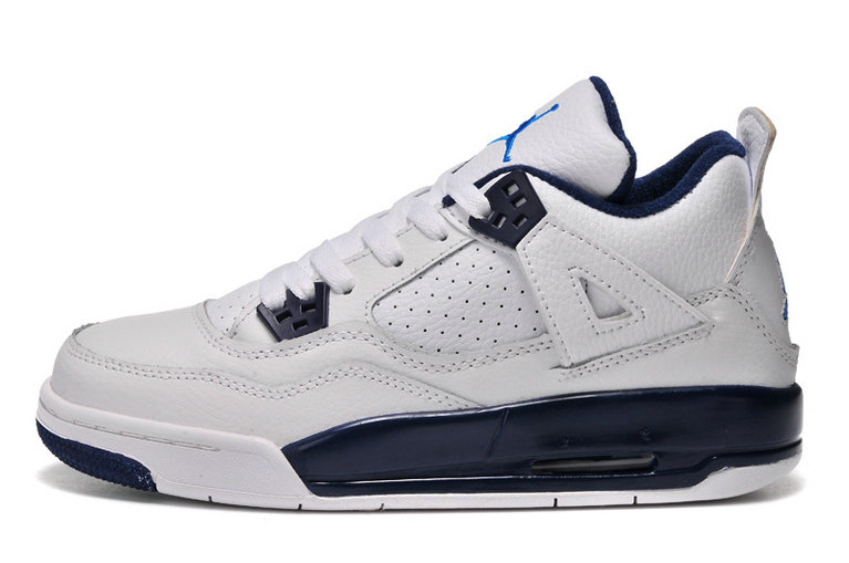 Womens Cheap Wholesale Air Jordan 4 Retro GS Columbia Remastered For 2015 For Sale