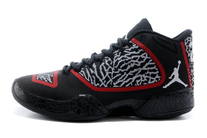 Cheap Wholesale Air Jordan XX9 (29) Black White-Gym Red Online For Sale