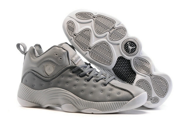 Air Jordan Jumpman Team II Grey White