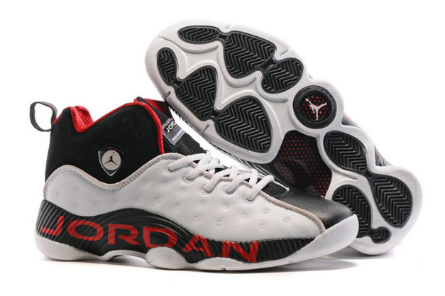 Air Jordan Jumpman Team II White Red Black