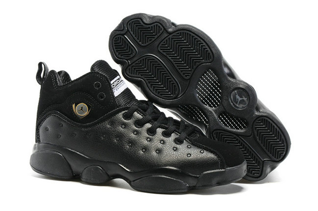 Cheap Wholesale Air Jordan Team 2 Womens All Black