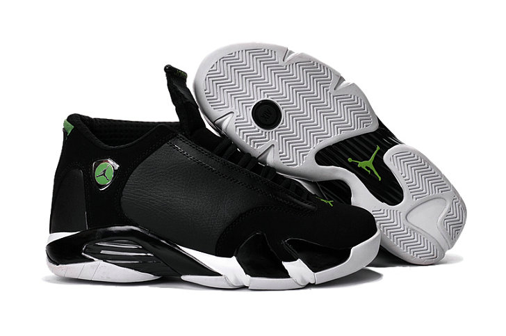 Cheap Wholesale Air Jordan 14 For Mens Black White