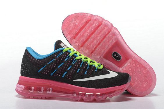 Cheap Wholesale Air Max 2016 Pink Blue Black Green White Shoes