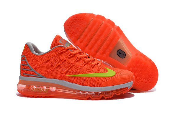 Cheap Wholesale Air Max 2016 Orange Yellow Grey Womens