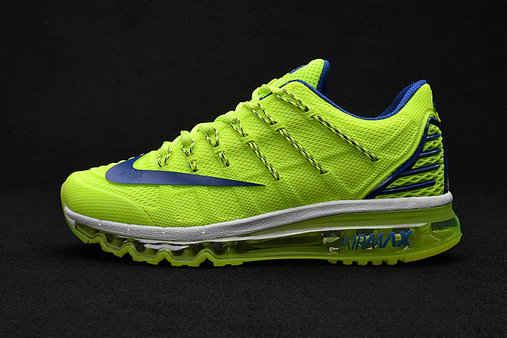 Cheap Wholesale Air Max 2016 Premium Mens Green Navy Blue 3M