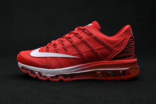 Cheap Wholesale Air Max 2016 Premium Mens All Red Grey 3M