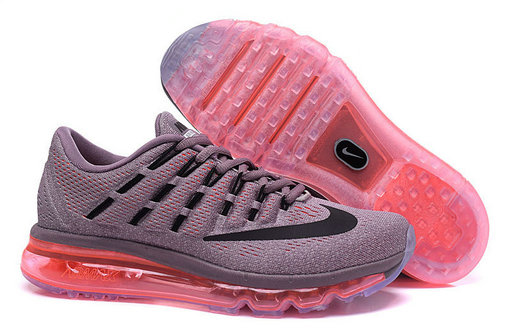 Cheap Wholesale Air Max 2016 Pink Grey Black Wholesale