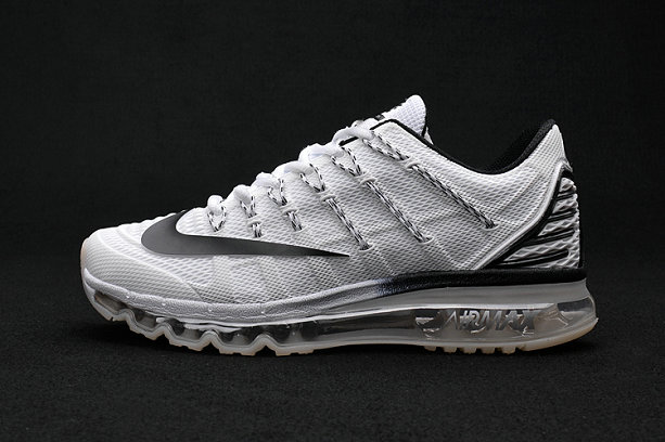 Cheap Wholesale Air Max 2016 Premium Mens All Grey Black 3M