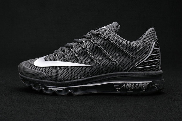 Cheap Wholesale Air Max 2016 Premium Mens All Black 3M