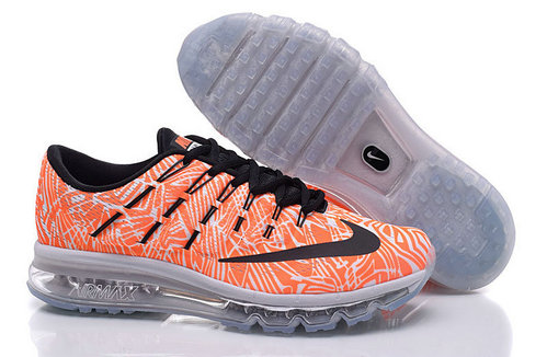 Cheap Wholesale Air Max 2016 Orange Grey Black Nike