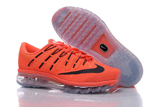 Cheap Wholesale Air Max 2016 Orange Black Grey Mens