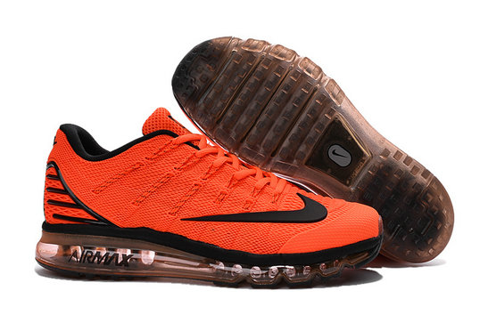 Cheap Wholesale Air Max 2016 Orange Black Brown