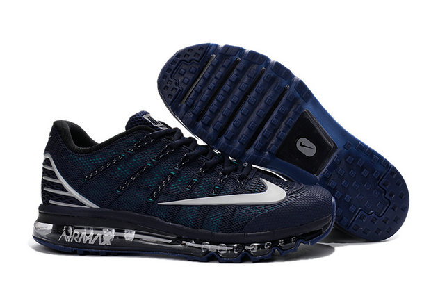 Cheap Wholesale Air Max 2016 Navy Blue Black Grey