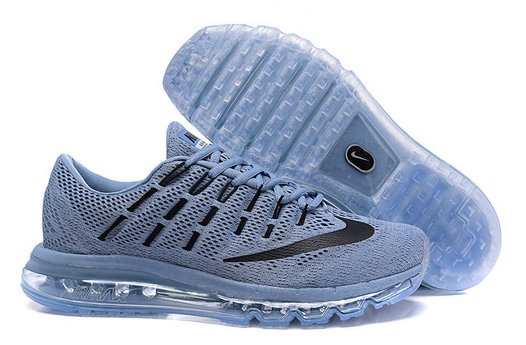 Cheap Wholesale Air Max 2016 Light Grey Black