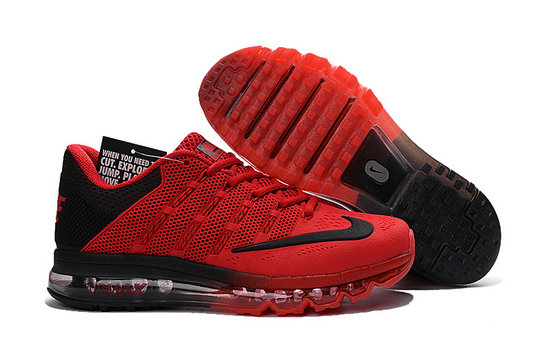 Cheap Wholesale Air Max 2016 Classic Red Black