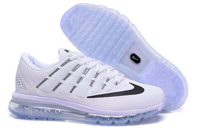 Cheap Wholesale Air Max 2016 All White Black