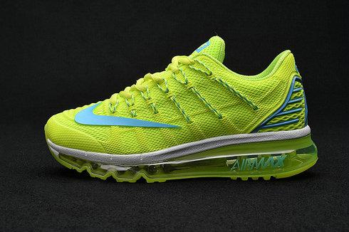 Cheap Wholesale Air Max 2016 Premium Fluorescent Green 3M