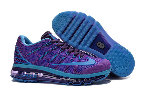 Cheap Wholesale Air Max 2016 Purple Blue Womens