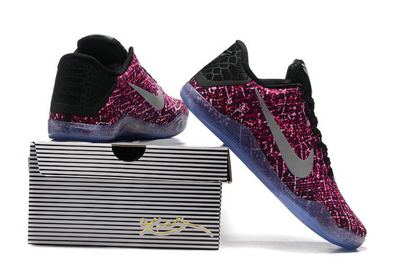 Cheap Wholesale NikeKobe 11 Purple Grey Black