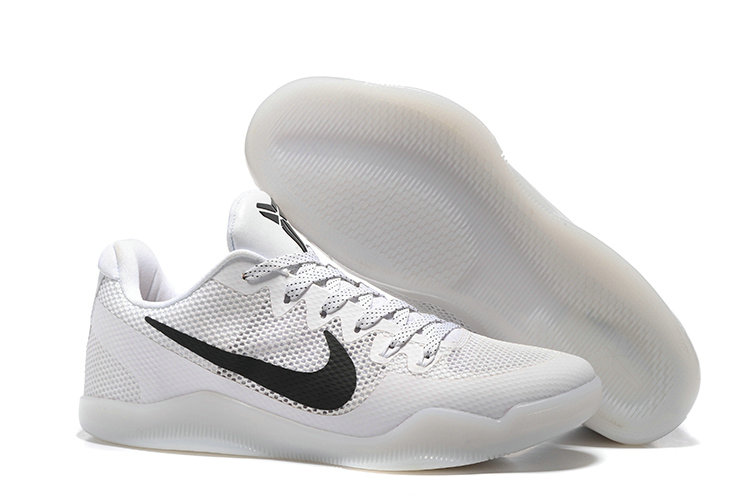 Cheap Wholesale NikeKobe 11 White Black
