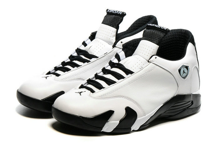 Cheap Wholesale AirJordan 14 White Black