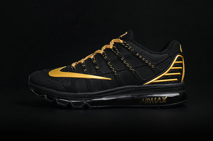 Cheap Wholesale AirMax 2016 Gold Black