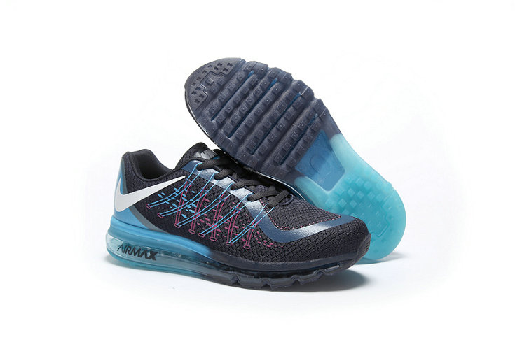 Cheap Wholesale AirMax 2015 Black Blue Red