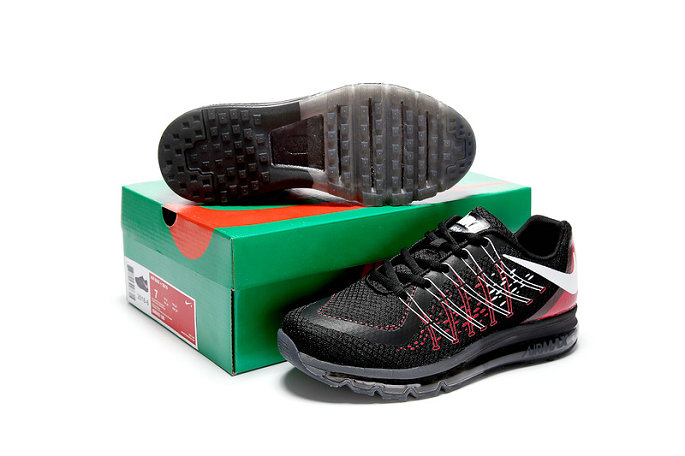 Cheap Wholesale AirMax 2015 Black Red White