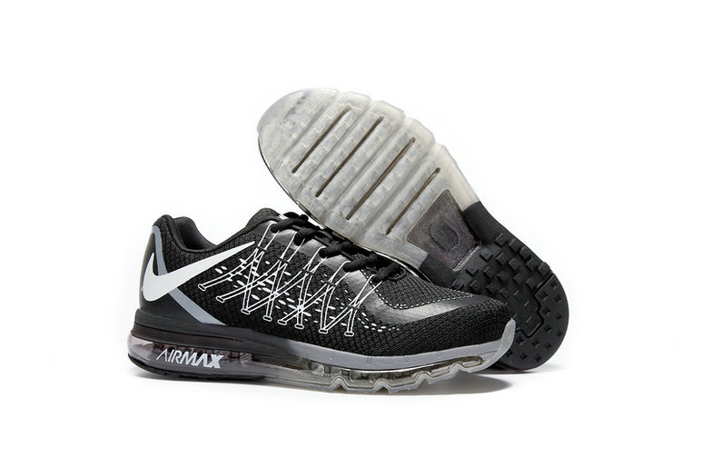 Cheap Wholesale AirMax 2015 Grey White Black