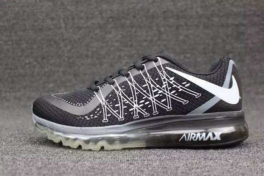 Cheap Wholesale Nike AirMax 2015 Black White