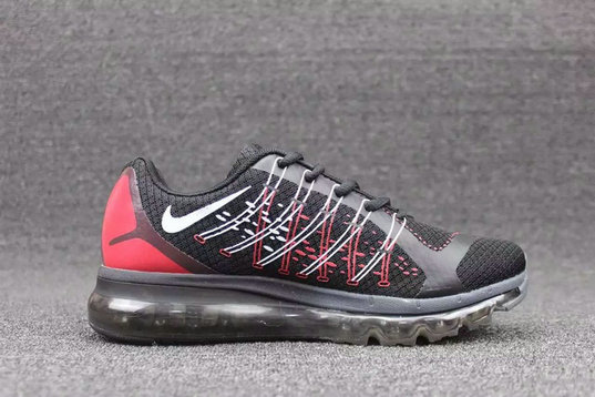 Cheap Wholesale Nike AirMax 2015 Red Black White