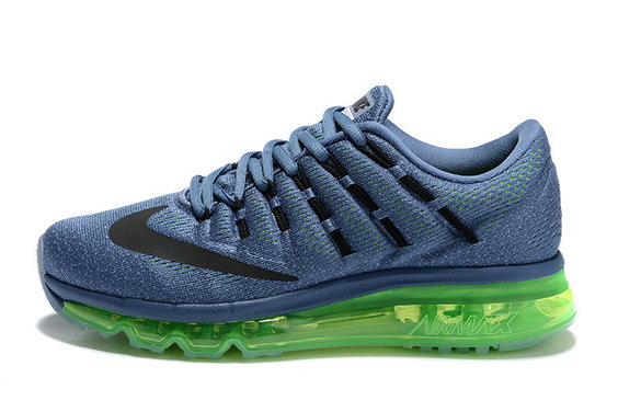 Cheap Wholesale Nike AirMax 2016 Blue Green Black