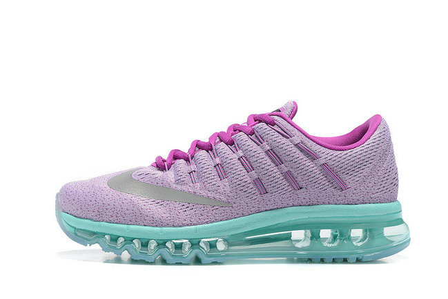 Cheap Wholesale Nike AirMax 2016 Grass Green Purple Grey