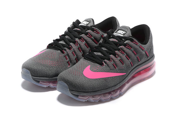 Cheap Wholesale Nike AirMax 2016 Grey Pink Black