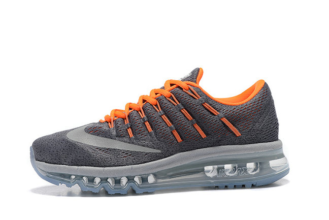 Cheap Wholesale Nike AirMax 2016 Orange Grey