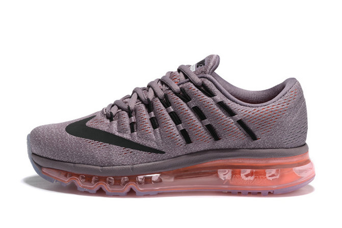 Cheap Wholesale Nike AirMax 2016 Pink Grey Black