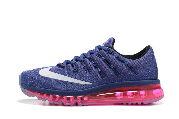 Cheap Wholesale Nike AirMax 2016 Pink Royal Blue White Black