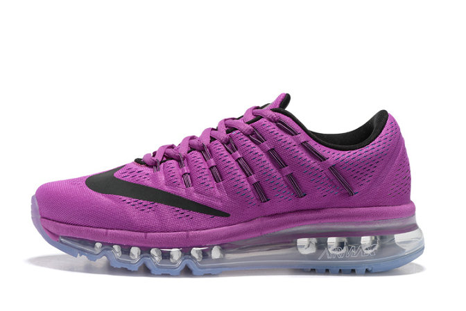 Cheap Wholesale Nike AirMax 2016 Purple Black