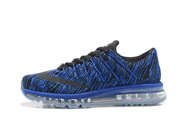 Cheap Wholesale AirMax 2016 Mens Royal Blue Black